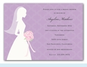 I Do Silhouette Invitation