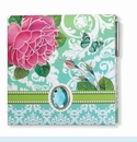 Windsor Rose Covered Memo Pad