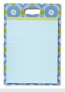 Isabelle Blue Portable Pad Clipboard