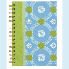Isabelle Blue Small Blank Journal - click to enlarge