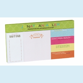 Jonathan Adler Hollywood Sticky Notes Set - click to enlarge