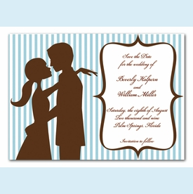 Kiss Me Handsome Invitation - click to enlarge