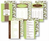 Kitchen Conversion Cards - Preppy Lime & Chocolate