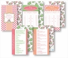 Kitchen Conversion Cards - Preppy Pink & Coral