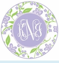 Lavender Flower Personalized Magnet