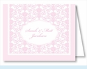 Light Pink Elegant Note Cards