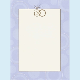 Lilac Rings Invitation - click to enlarge