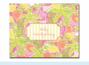 Lilly Pulitzer Juice Bar Folded Notes