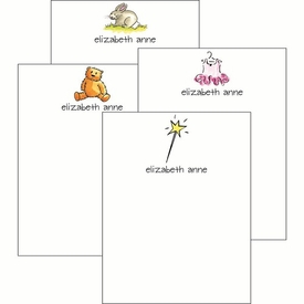 Little Girl Cute Collections Notepad Set - click to enlarge