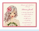 Lovely Lace Invitation