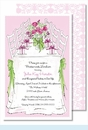 Luncheon Day Large Flat Invitation