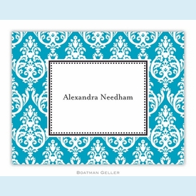 Madison Teal Folded Notes (set/25) - click to enlarge