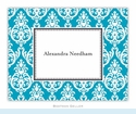 Madison Teal Folded Notes (set/25)