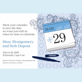 Mark It Save the Date Announcement - click to enlarge