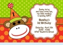 Monkey Business Invitation