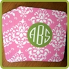 Monogrammed Cork Coaster Set
