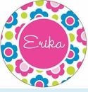 Multi Flower Personalized Magnet