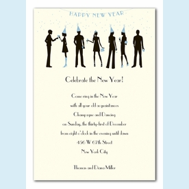 New Years Soiree Invitation - click to enlarge
