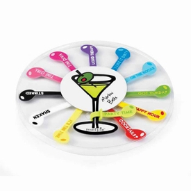 Olive Martini Glass Belts - click to enlarge