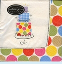Party Dots Lunch Napkins