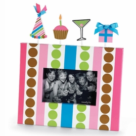 Party Paper Birthday Photo Frame - click to enlarge