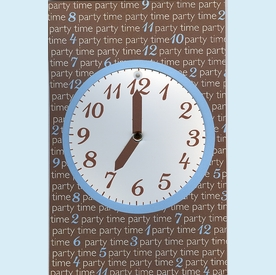 """Party """"Time"""" Swing Invitation - click to enlarge"""