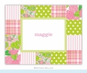Patchwork Pink Folded Notes (set/25)