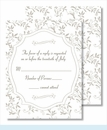 Pewter Sweet Pea Small Flat Cards