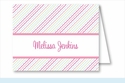 Pink/Blue/Green Ruffles Note Cards