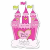 Pink Castle Diecut Invitation