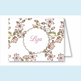 Pink Cherry Blossom Note Cards - click to enlarge