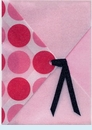 Pink Dots Sleeve Invitation