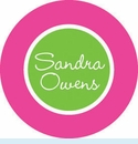 Pink/Green Snowflake Personalized Magnet