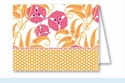 Pink/Orange Garden Note Cards
