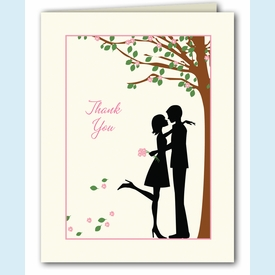 Pink Petals Thank You Notes - click to enlarge