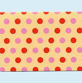 Pink & Red Dots Notes - click to enlarge