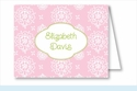 Pink Sweet Floral Note Cards