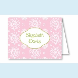 Pink Sweet Floral Note Cards - click to enlarge