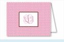 Pink Swiss Dot Note Cards