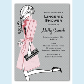 Pretty Pink Party Invitation - click to enlarge