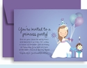 Princess Peyton's Birthday Party Invitation