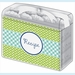 Recipe Box - Navy Pan & Lime Canister w/ Spoons - click to enlarge