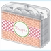 Recipe Box - Pink Spoon & Coral Dots - click to enlarge
