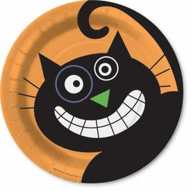 Scaredy Cat Dessert Plates - click to enlarge