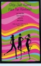 Silhouette Girls Invitation