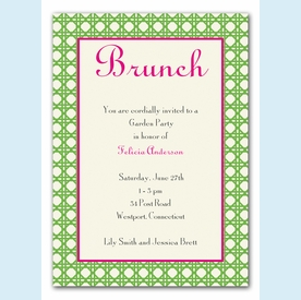 Simply Brunch Invitation - click to enlarge