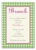 Simply Brunch Invitation