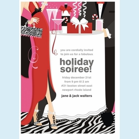 Soiree Style Invitation - click to enlarge