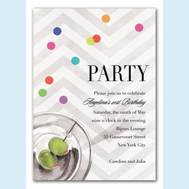 Sophisticated Soiree Invitation - click to enlarge