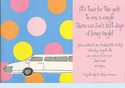 Stretch Limo Invitation